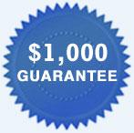 $1,000 Guarantee